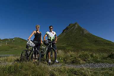 Mountainbike Rotwandblick