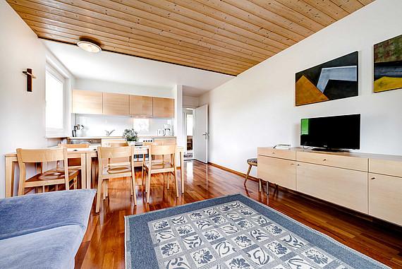 Wohnraum Appartment Hirtamadl