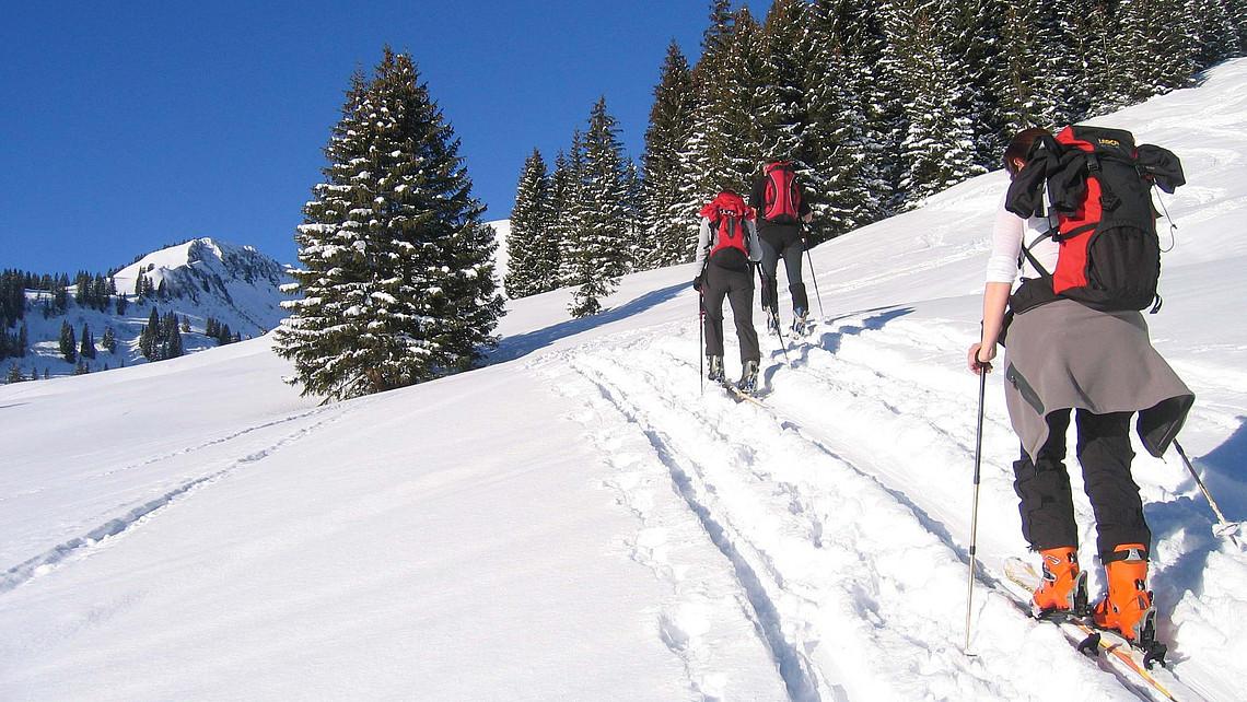 Skitouren im großen Walsertal