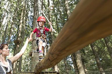 Waldseilgarten Damüls
