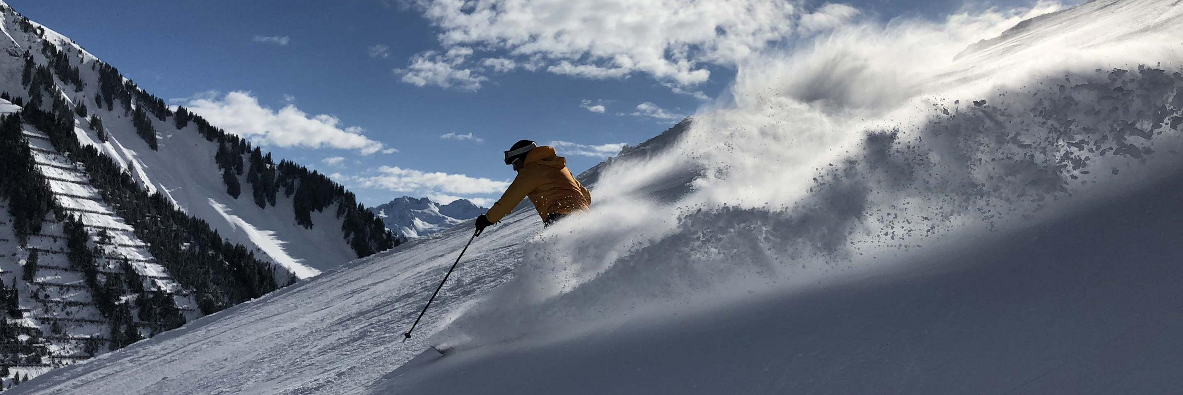 Wintersport im Rotwandblick